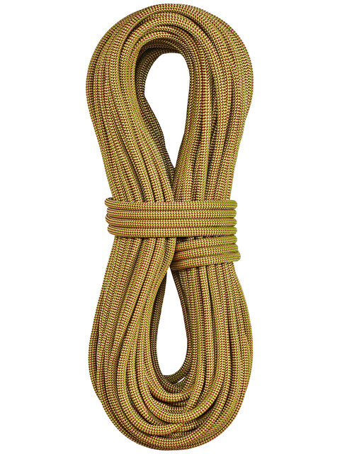 Edelrid Boa - Corde d'escalade - 9,8mm 80m with Caddy Liner jaune